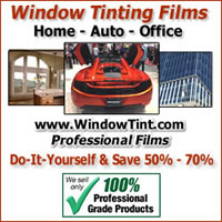 Window Tinting Films